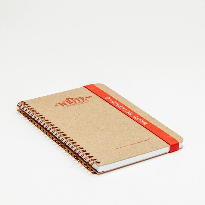 Traditional Plain Notebook
