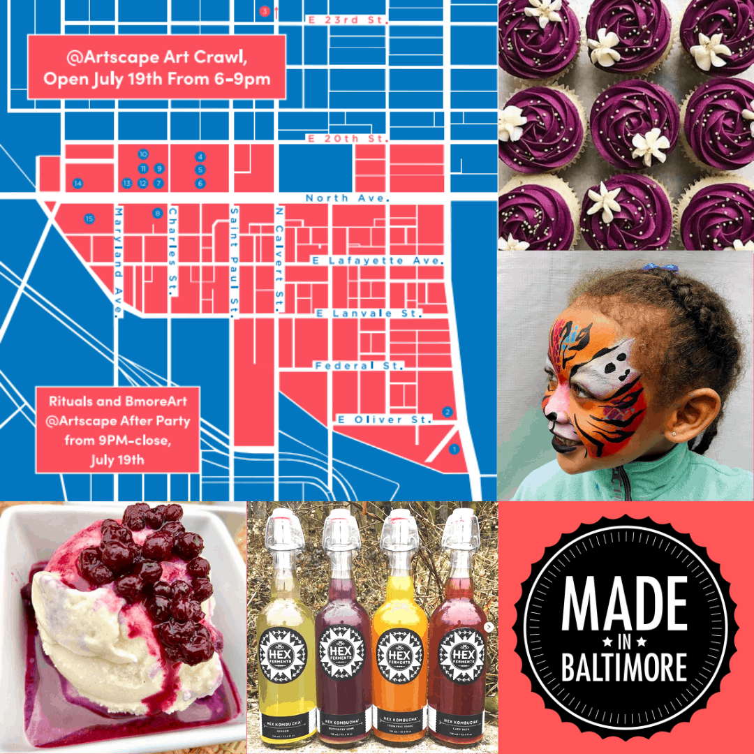 ARTSCAPE EVENTS at Made In Baltimore